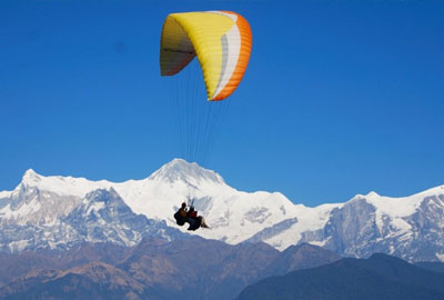 Paragliding and ultra-light flights