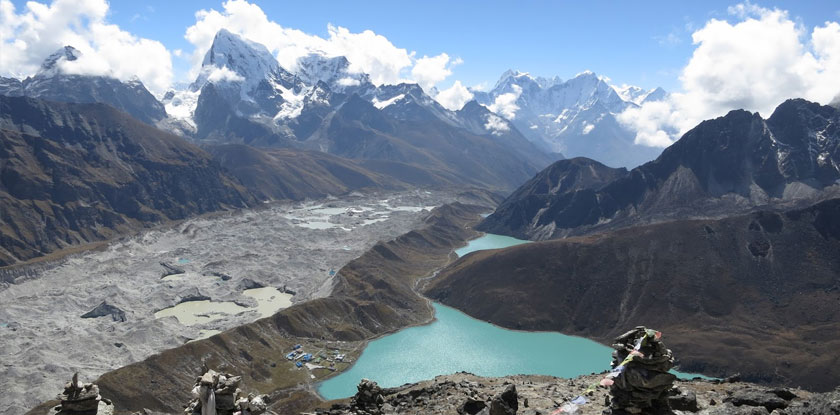 Gokyo valley with Everest base camp trek