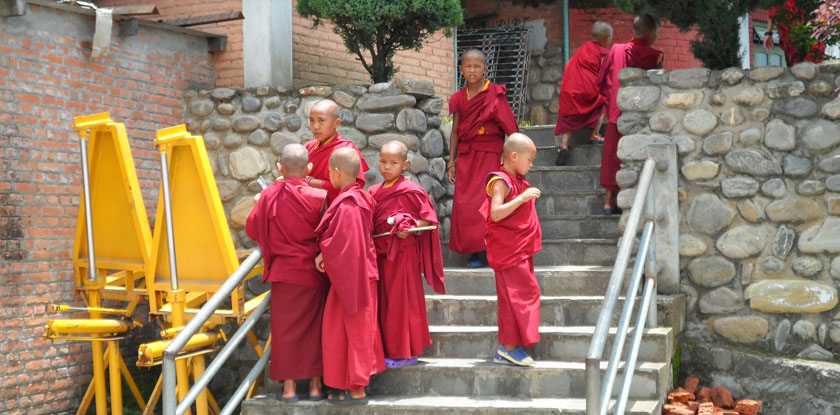 Nepal special with focus in monastery and ashram